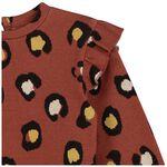 Prénatal peuter meisjes trui - Red Brown