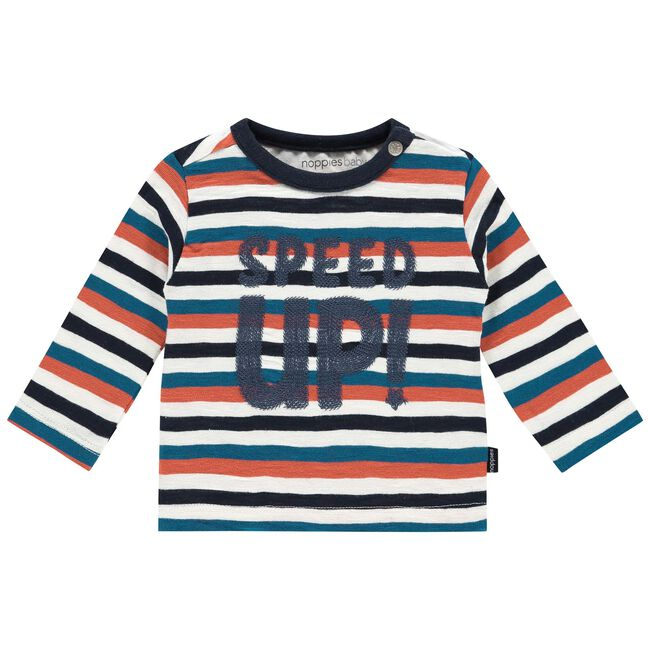 Noppies jongens t-shirt - Ivoor Wit