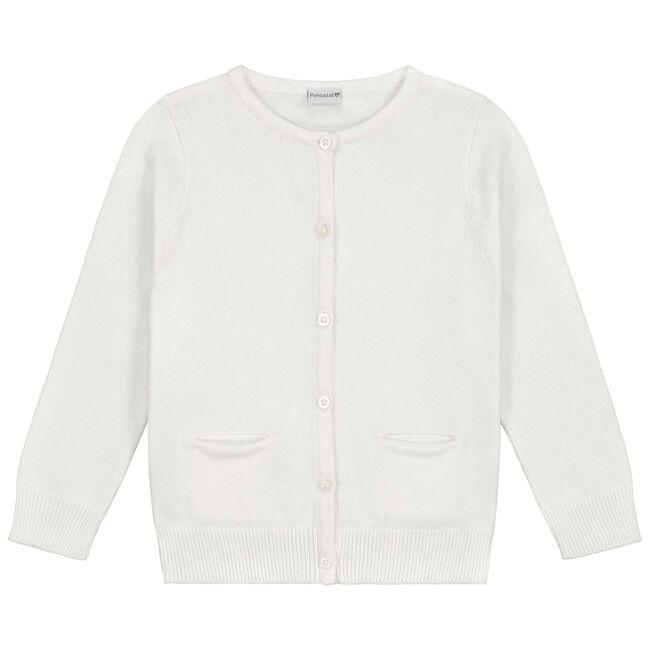 Prénatal baby meisjes vest - White