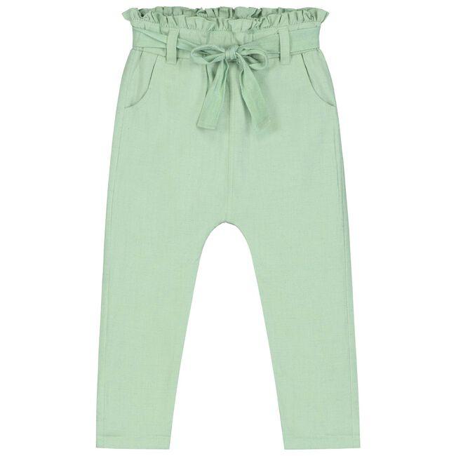 Prénatal peuter meisjes broek - Lightgreen