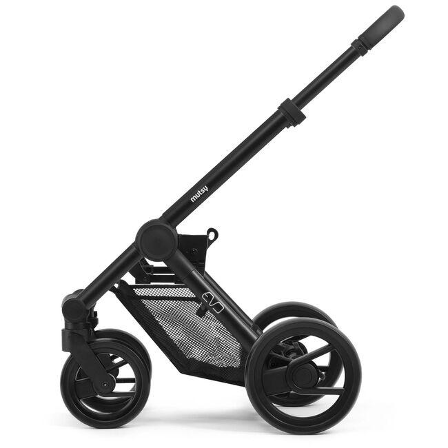 Mutsy Evo frame - Grey Grip Black Black Wheels