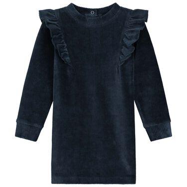 Prénatal peuter jurk rib -