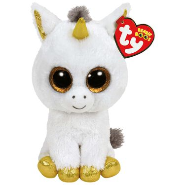 TY beanie boo's pegasus unicorn 15cm -