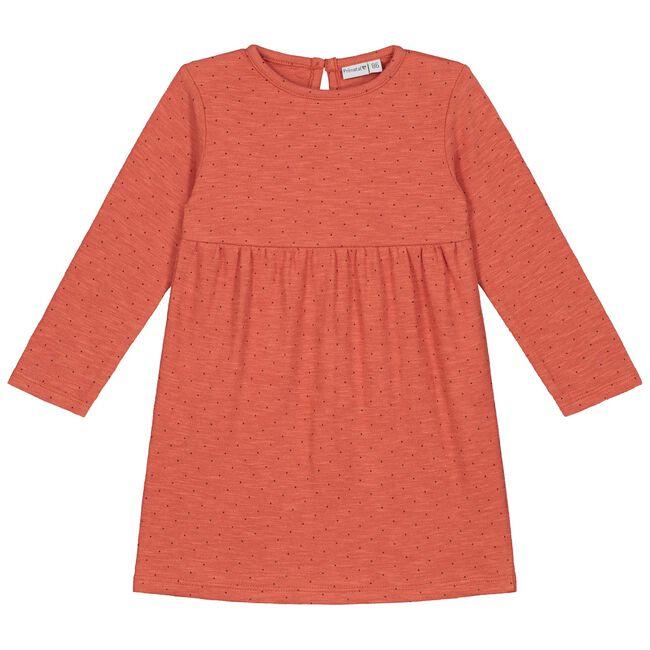 Prénatal peuter meisjes jurk - Brown Red