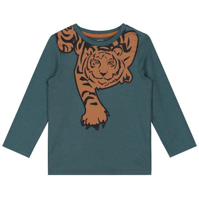 Prenatal baby jongens t-shirt - Medium Blue