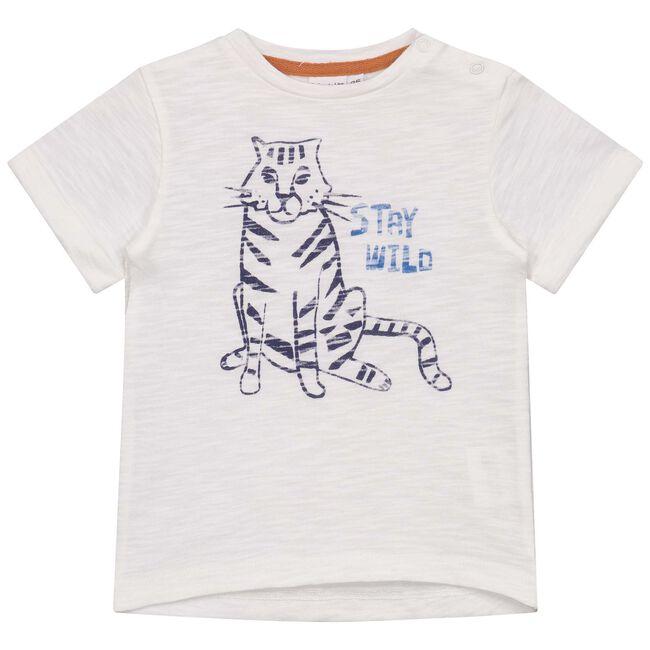 Prénatal peuter jongens t-shirt - Onbehandeld/Naturel