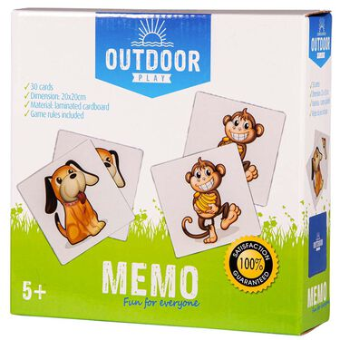 Outdoor Play memo -