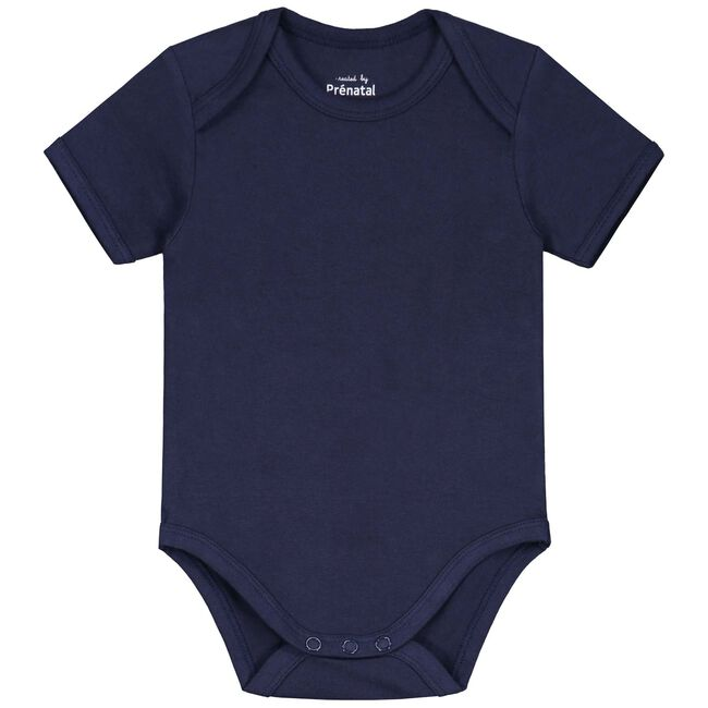 Prénatal basis romper - Navy Blue