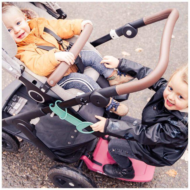 EVE Kids Kid-Sit meerijdstoeltje / meerijdplankje - Ruby Blush