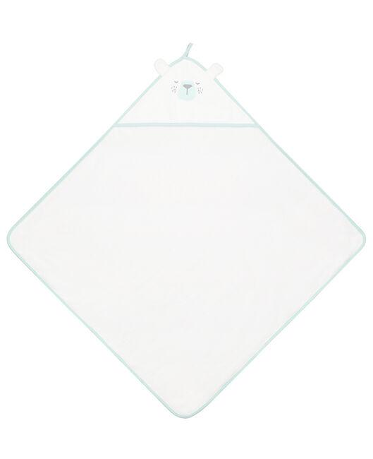 Prénatal badcape badstof Fribble & friends - Springgreen