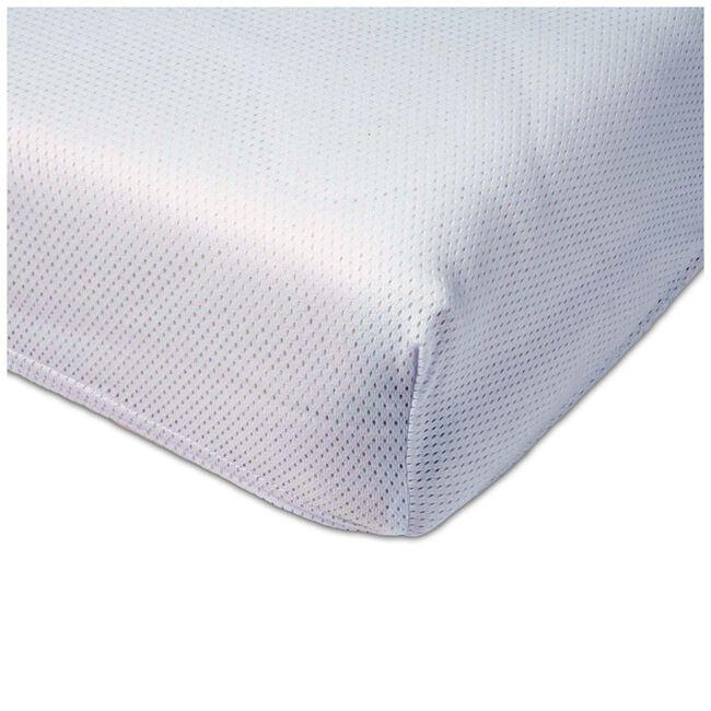 Airgosafe hoekslaken ledikant duopack - White