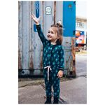 Quapi peuter meisjes jumpsuit - Midgreen