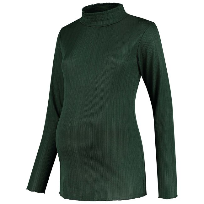 Prénatal zwangerschapsshirt - Dark Bottle Green