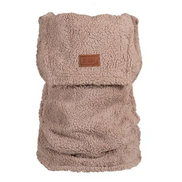 ByKay inlay winter teddy - Taupebrown