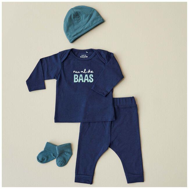 Prénatal newborn broek - Dark Blue