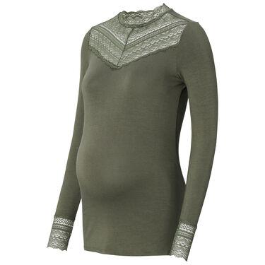 Supermom zwangerschapsshirt - Forestgreen