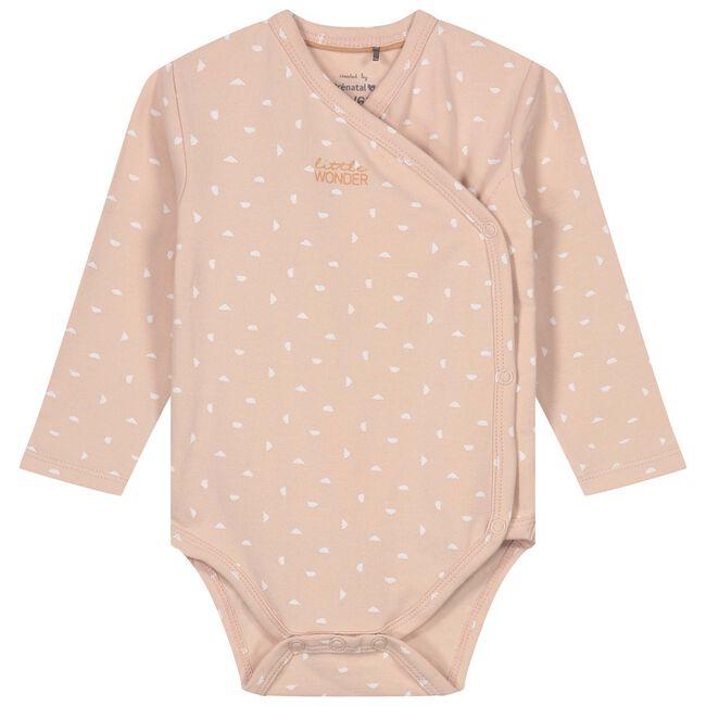 Prenatal newborn meisjes romper - Soft Pink
