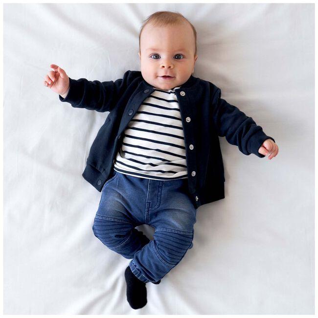 Prénatal baby jongens t-shirt - Ivoor Wit