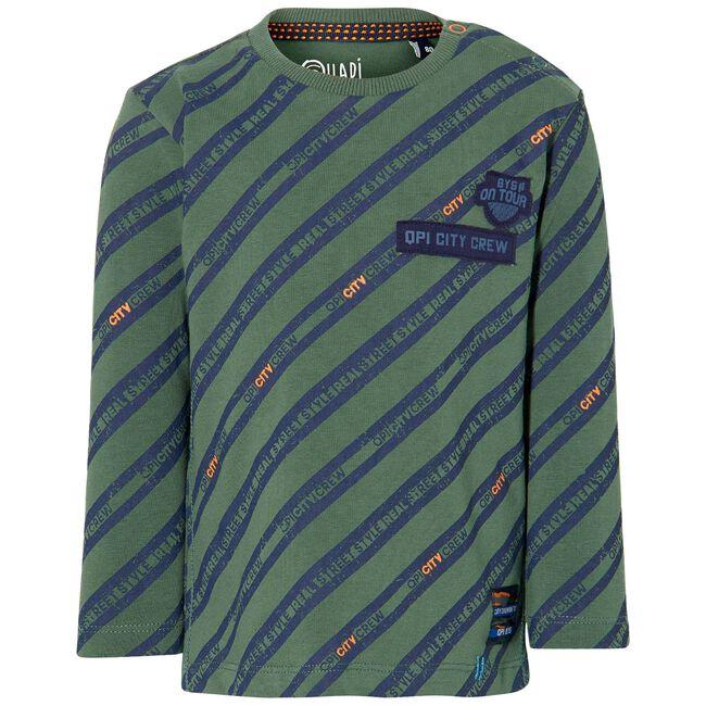 Quapi peuter jongens t-shirt - Darkgreen