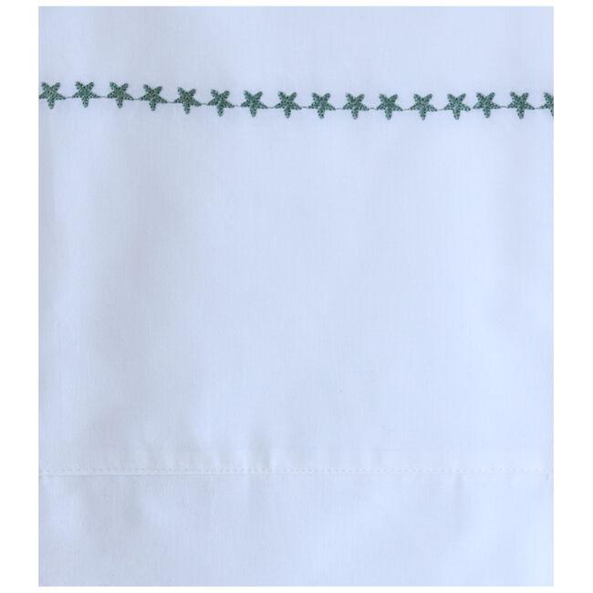 Prénatal wieglaken borduur ster - Light  Greenshade