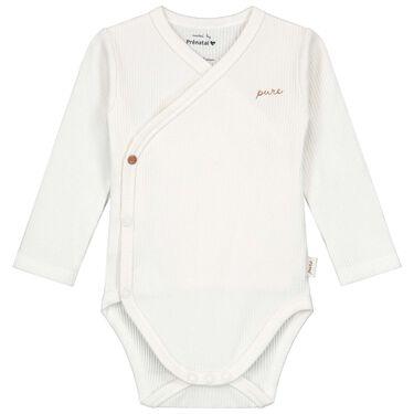Prénatal newborn overslagromper rib Pure -