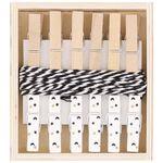 Prénatal kaartknijpers 6 stuks - Multi