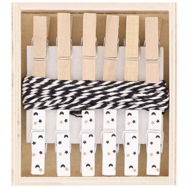 Prénatal kaartknijpers 6 stuks -