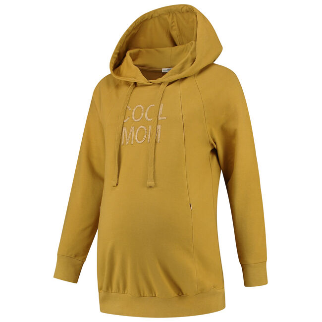 Love2Wait voedings sweater - Yellow