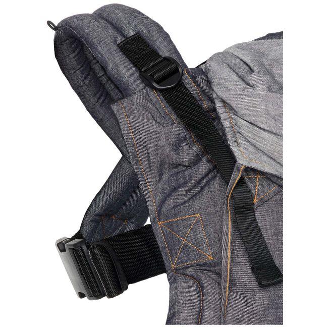 ByKay Click Carrier Deluxe draagzak - Dark Jeans