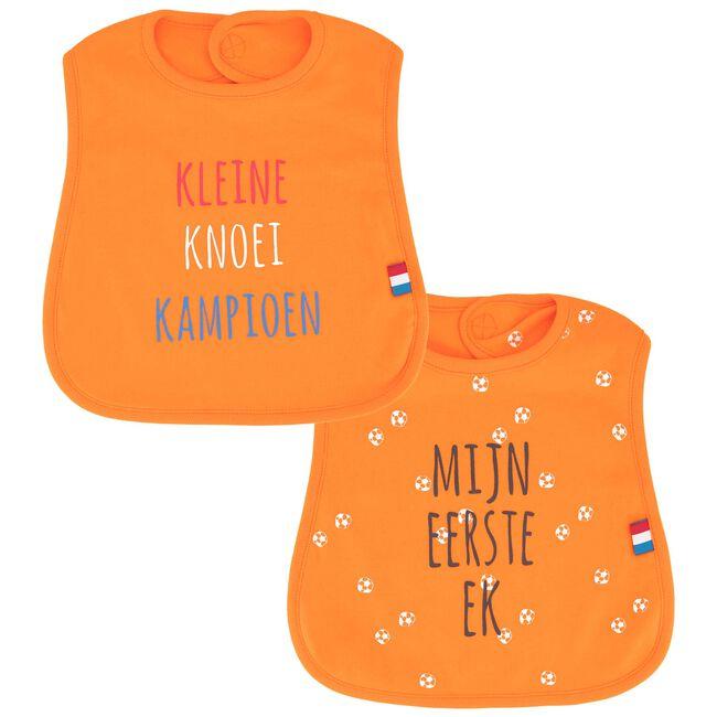 Prenatal slab Mijn eerst EK - 2 stuks - Orange