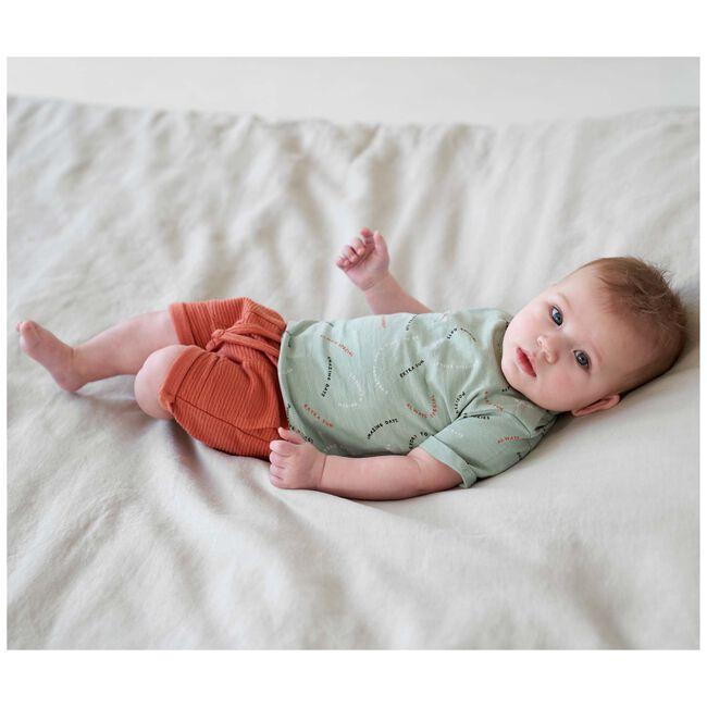 Prénatal baby T-shirt - Soft Green Grey