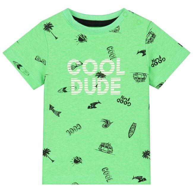 Prénatal peuter T-shirt - Neon Green