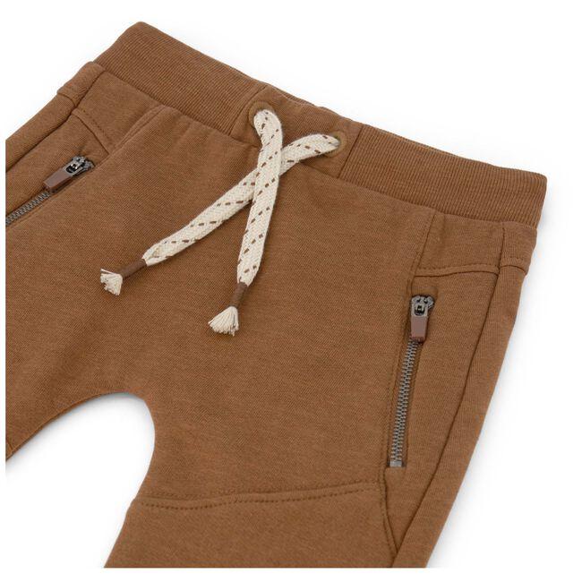 Prénatal peuter jongens broek - Red Brown