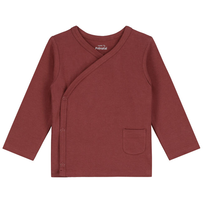 Prenatal newborn unisex overslag shirtje