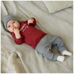 Prénatal newborn broek rib -