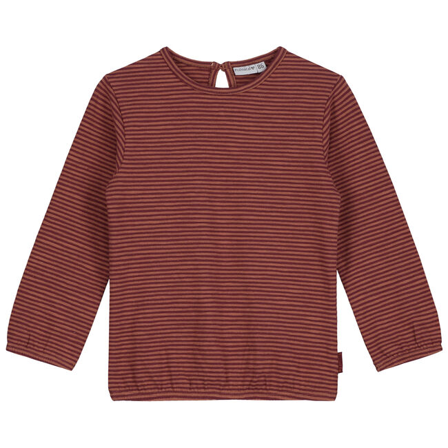 Prénatal baby meisjes T-shirt - Deep Orange