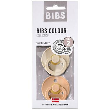 Bibs fopspeentje Size 2 - Vanilla/ Peach