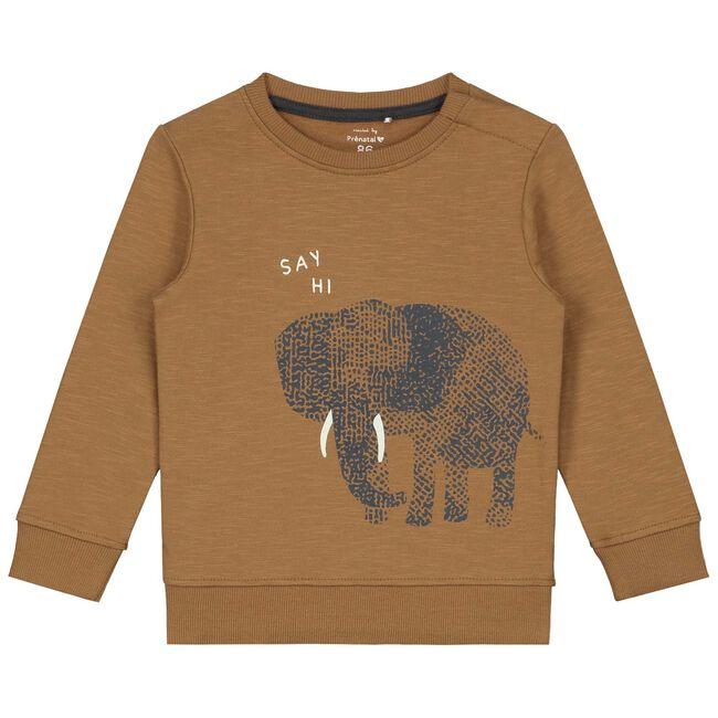 Prénatal baby jongens sweater - Brown Shade