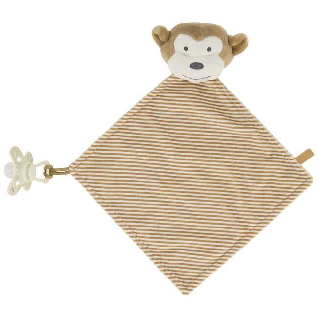 Prénatal knuffeldoekje aap -