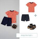 Shop the look - T-shirt en short -