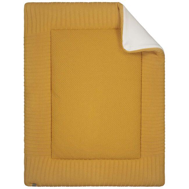 Prénatal boxkleed gebreid - Yellow