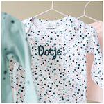 Prenatal newborn meisjes shirtje - White