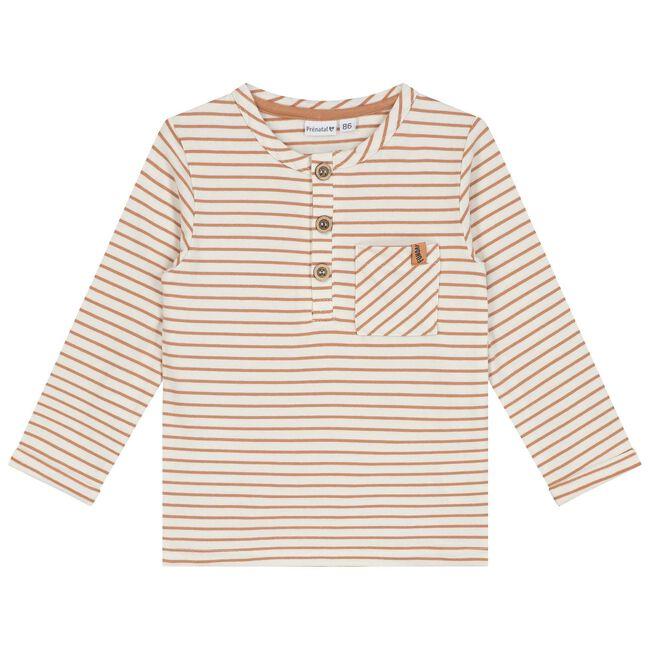 Prénatal baby jongens t-shirt - Orange Brown