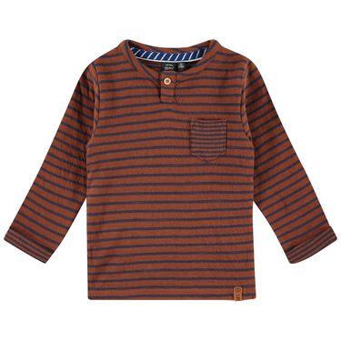 Babyface peuter shirt - Red Brown