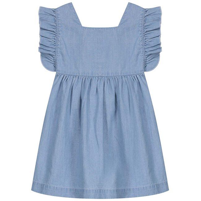 Prenatal peuter meisjes jurk - Lt Denim