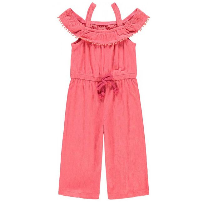 Name it peuter meisjes jumpsuit - Dark Pink