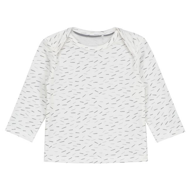 Prénatal newborn unisex shirt met over all print - Dove Grey