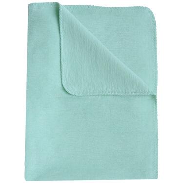 Prénatal ledikantdeken grijs melange - Light Mint Green