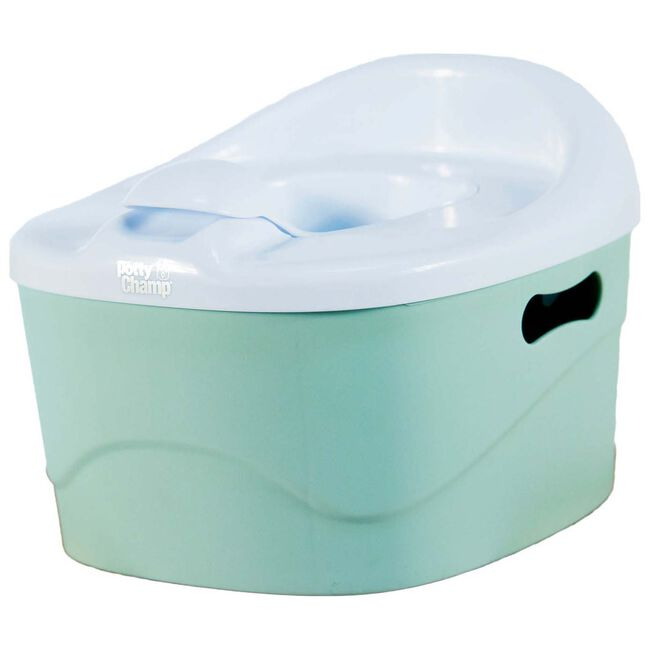 PottyChamp potje, toiletverkleiner en opstapje in 1 - Light Mint Green