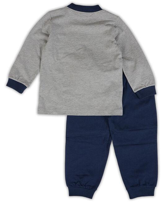 snel bekijken woezel pip jongens peuter pyjama grey melee light